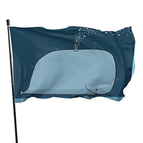 Flagge Magische Walbaum Mode Flagge Garten Outdoor Yard Flags 3x5 Ft