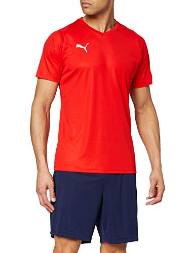 PUMA Herren Liga Core Jersey, rot(PUMA Red/PUMA white), L, 703509
