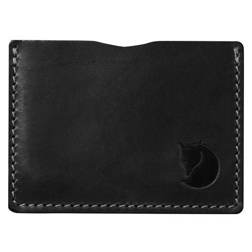 FJÄLLRÄVEN Unisexs Övik-korthållare plånböcker och små väskor, svart, en storlek