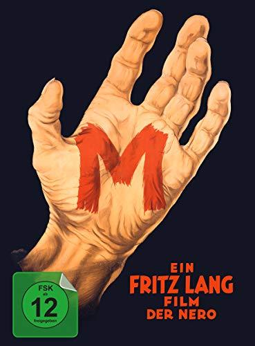 M - Eine Stadt sucht einen Mörder - limitiertes und nummeriertes Mediabook (+ DVD ) [Blu-ray]