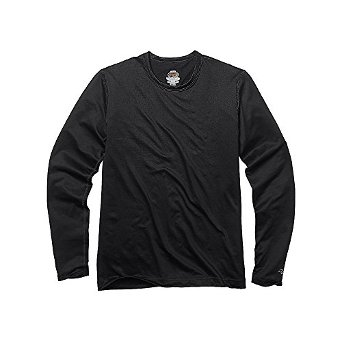 Duofold by Champion by Varitherm Mid-Weight 2-Layer Boys' Thermal Shirt_Black_M