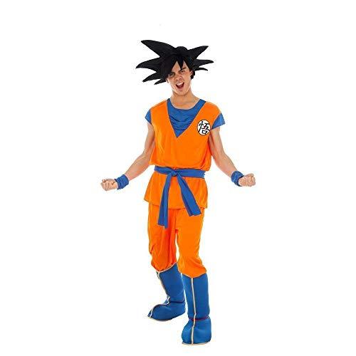 Generique - Son Goku-Herrenkostüm Lizenz von Dragonball Z orange - L