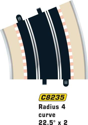 MKD - Circuit voitures - Virage Extérieur - 22,5 degrés - 2 pièces