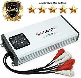 Gravity GBR300.4DM True 600-Watt RMS Micro Ultra Compact...
