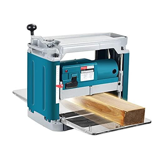 Planador de escritorio multifunción de madera de 12 pulgadas, máquinas de cepillador de prensa de plantador de madera de maquinaria de alta potencia 220V 1850W