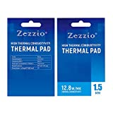 MAXBELL Silicone Thermal Pad 12.8 W/mK Heat Resistance Simple for PC Laptop Heatsink 1.5mm
