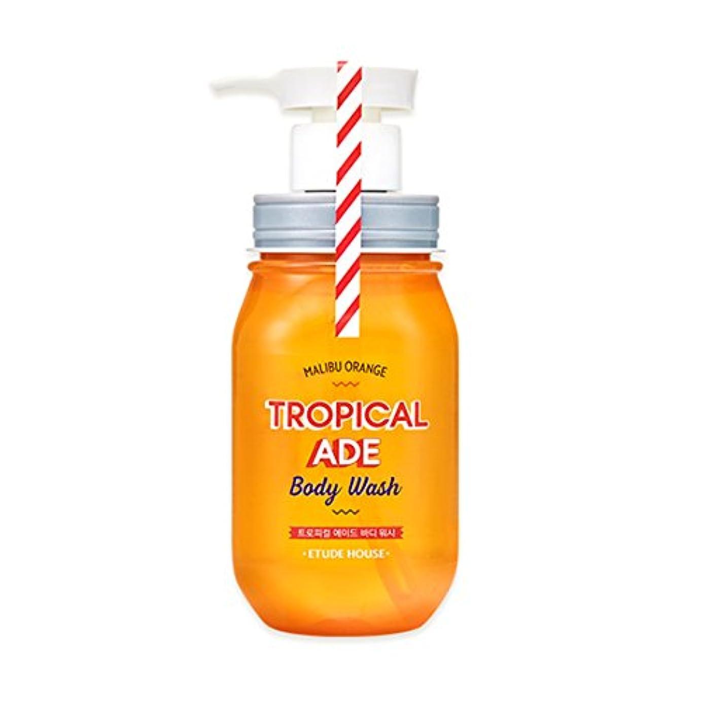 同僚スロベニア地理ETUDE HOUSE TROPICAL ADE Body Wash # Malibu Orange /エチュードハウス トロピカルエイドボディウォッシュ 300ml [並行輸入品]