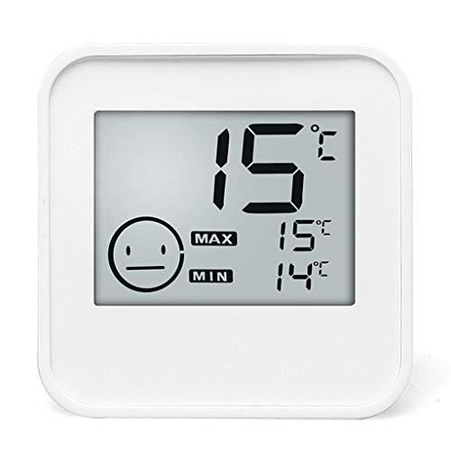 Thermomètre Thermomètre Accueil Température intérieure et hygromètre Chambre bébé mural de haute précision d'affichage numérique de bureau électronique multi-fonction Température ambiante Thermomètre