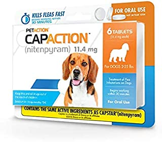 CapAction Dogs 11 4mg 225 Tablets