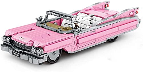 DSXX Técnica de Coches Coche Convertible Conjunto de la construcción 726 Bloques Piezas compatibles Lego Technic