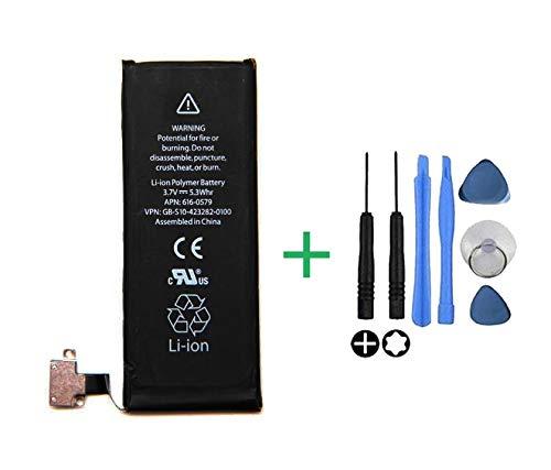 Bateria Interna Compatible con Apple iPhone 4S + Kit Herramientas/Tools | Capacidad Original