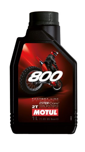 Motul 104038 800 2T Factory Line Off Road, 1 L