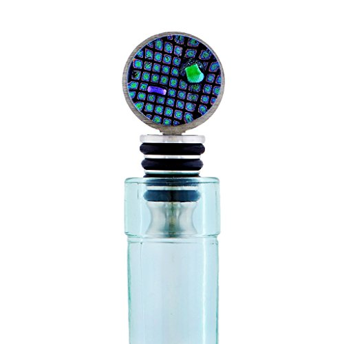 Display Ready Glass Wine Stopper - 100% Made in the USA – Ideal for Fine Liquor Bottles - Gift Boxed