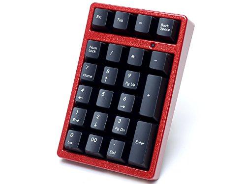 FILCO Majestouch TenKeyPad 2 Professional使用 テンキー工房 越前漆塗りモデル 漆・赤金砂子 Cherry MX 茶軸 USBポータブルメカニカルテンキーパッド ブラック FTKP22M/B2-AKS