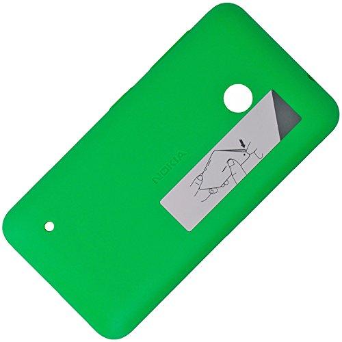 Original Akkudeckel hell grün für Nokia Lumia 530 und 530 Dual Sim inklusive Laut/Leise und Ein/Aus Taste