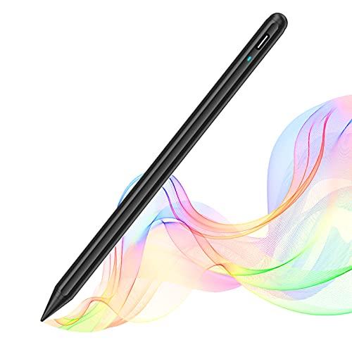 SOCLL Stylus Stift für iPad 2018-2020 mit Palm Rejection und Tilt, Touchscreen Stylus Pen mit Hoher und Feiner Spitze, Kompanibel mit iPad Pro 11 (1/2), iPad 6/7/8, (Black)