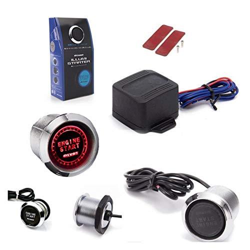 JinHongShop 12V Coche Motor Inicio Detener botón pulsador Interruptor Encendido Inicio botón Interruptor de Encendido Encendido Encendido insinuación inseroncero de Entrada para Dropshipping