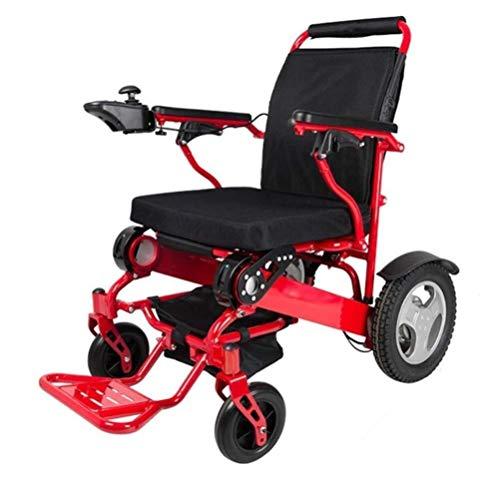 Vouwen Ultra lichtgewicht 26,5 krachtige Lithium batterij inbegrepen, makkelijk te gemotoriseerde rolstoel W / 360 ° Joystick Control, Airline Travel Compatible Elektrische rolstoelen Carry