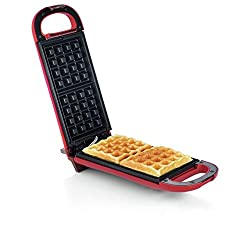 If you fancy a fun, tasty treat this American Originals waffle maker is ideal; simply bake then get creative and decorate your dessert. The cool touch handle enables you to safely flip the waffle maker 180° halfway through cooking, to ensure an even ...