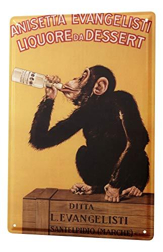 LEotiE SINCE 2004 Plaque en M/étal M/étallique Poster Mural tin Sign Alcool Retro Champagne Bar Pub Restaurant