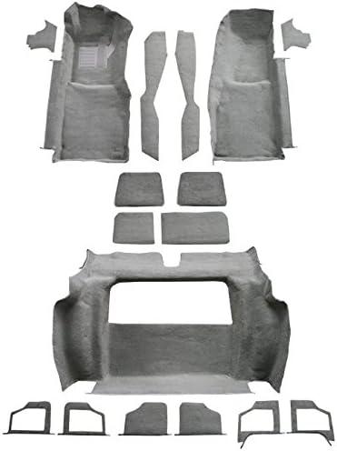Factory Fit Complete Fits: Complete Cutpile ACC 1980 Corvette Carpet Replacement