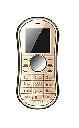 Whitecherry BL5000 Keypad Phone (Gold, 32MB)