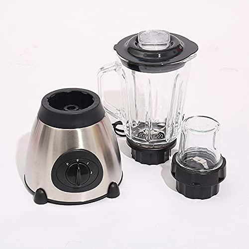Batidora - Licuadora 550 W, Cuchillas Afiladas, para batidos, salsas, limpieza fácil y 2.0 L - Bajo Nivel de Ruido, Fácil de Limpiar