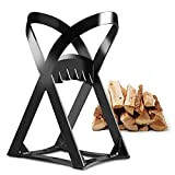 Seesii Quick Wood Log Splitter, Cast Iron Manual Inertia Log Splitters, No Sharp Edges, Safest & Easily Way to Split Firewood for Manual Use for Home, Campsite,Fireplace.ect