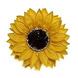 fervory 25 STÜCKE Sunflower Seife Blumenkopf Bouquet Geschenkbox Dekoration Kollokation Blumenladen...