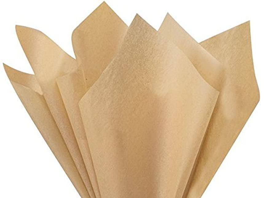 Desert Tan Tissue Paper 20 x 30 48 Sheets Premium Quality Gift wrap Paper by A1 bakery supplies