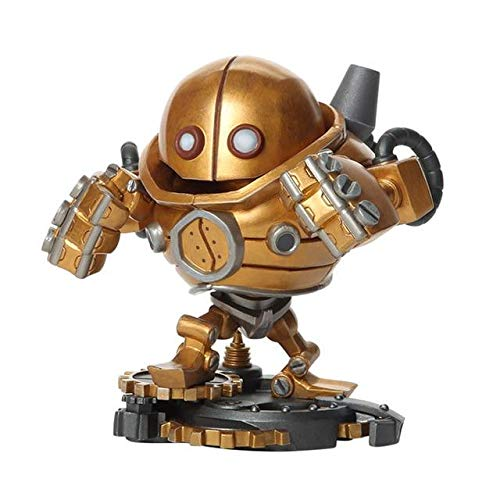 HANEUL LLC KR Game PVC Action Figure Poppy Tristana Blitzcrank Riven Collectible Model Toys Color withoutbox
