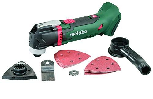 Metabo 613021890 Akku-Multitool 18V MT 18 LTX, Schwarz, Grün, Rot