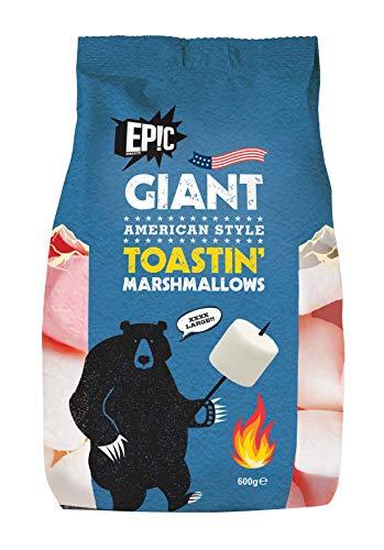 EP!C SNAX CO Giant American Style Toastin Marshmallows 600g