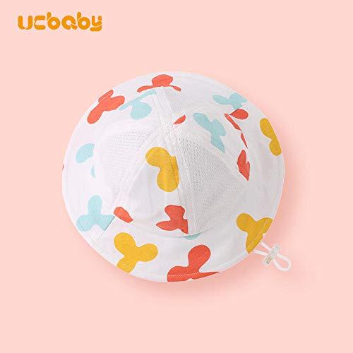 Babyhoeden Babyhoed Zomer Dunne Fisherman Zonnebrandcrème Zonnehoed - Kies volgens Head Circumference_L (Binnen hoofdomtrek binnen 50)_Ballon Fight hoed