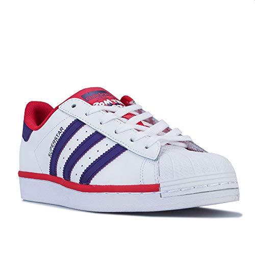 adidas Niño Superstar J Zapatillas Blanco, 35.5