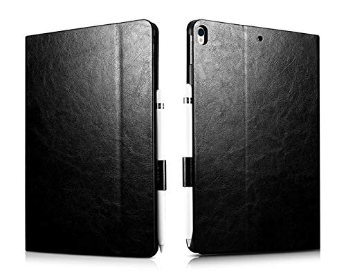 RubyShopUU XOOMZ Luxury for iPad Pro 10.5 Case Vintage PU Leather Auto Wake/Sleep Smart Folio Case for iPad Pro 10.5' Protective Cover Bag