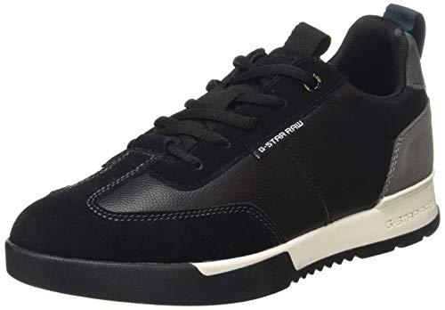 G-STAR RAW Damen Boxxa Sneaker, Black, 36 EU