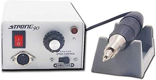 bpblgf 65W 35000RPM Elektrisch Nagelfräser Maschine Nagelfeile Bohren Einstellen Kit zum Acryl Nägel, Gel Nägel, Nägel Kunst Poliermaschine Sets Schnell Maniküre Pediküre Werkzeug