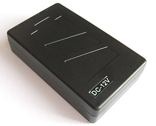 Safari Drives - Batteria al litio ricaricabile 12V DC per CCTV Camera 4800 mAh con ricarica europea