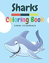 SHARKS: A Sharks Coloring Book for Kids