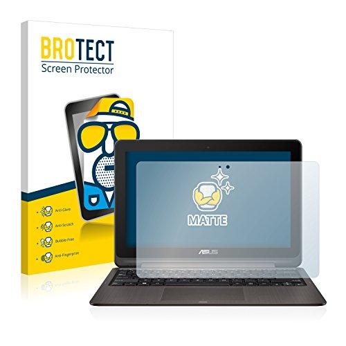BROTECT 2X Entspiegelungs-Schutzfolie kompatibel mit Asus VivoBook Flip TP201SA Bildschirmschutz-Folie Matt, Anti-Reflex, Anti-Fingerprint
