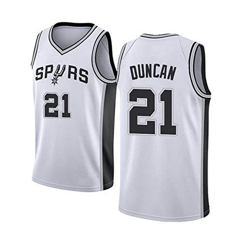 NBA Spurs 21# Duncan Trikot Herren Basketball Anzug