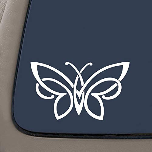 Celtic knot butterfly vinyl decal bumper sticker | 5.5-Inches X 3-Inches' | Premium Vinyl Decal | RS125