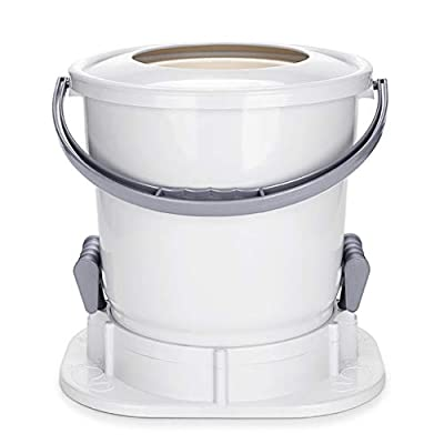 YXCKG Manual Spin Dryer, Spin Dryers Only, Camping Spin Dryer for Clothes, Space Saving, Drying Machine Hand Powered for Camping Apartments Clothes (Color : White)
