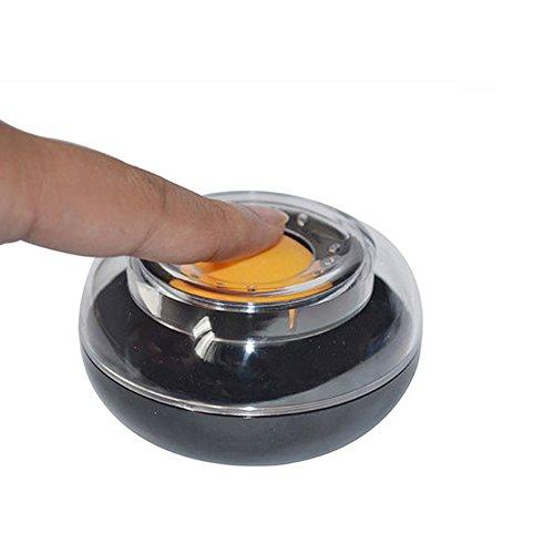 Deli herramienta húmeda de dedos, humidificador de dedos, bola redonda de escritorio,...