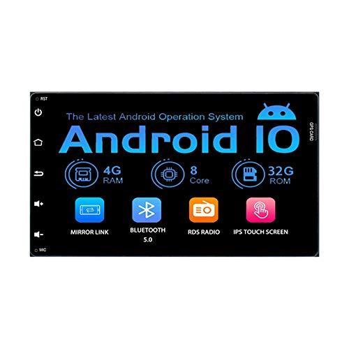 Para Toyota Tacoma Corolla 2016-2018 Sienna 2015-2018 Android 10.0 Unidad principal de navegación GPS Carplay incorporado Bluetooth SWC Llamada manos libres Reproductor multimedia estéreo para autom