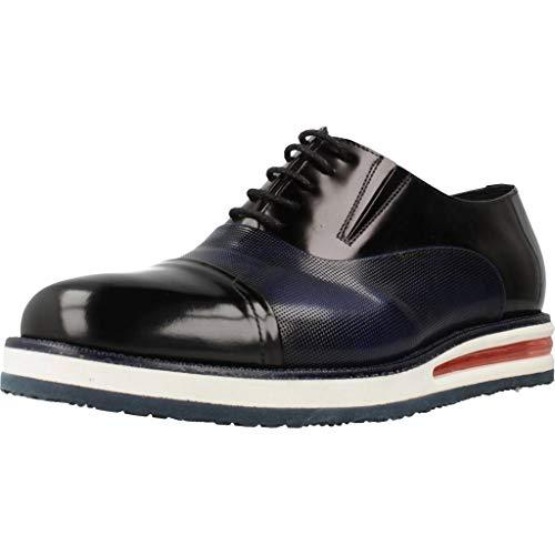 Angel Infantes Zapatos Cordones 27119 para Hombre Negro 42 EU