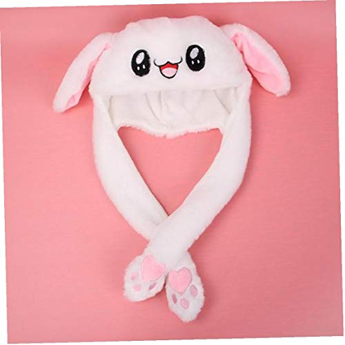 fedsjuihyg del Oído De Conejo del Sombrero Pinch Los Oídos De La Pata Se Moverá Airbag Imán Cap-Mejores Juguetes para Niños Precioso