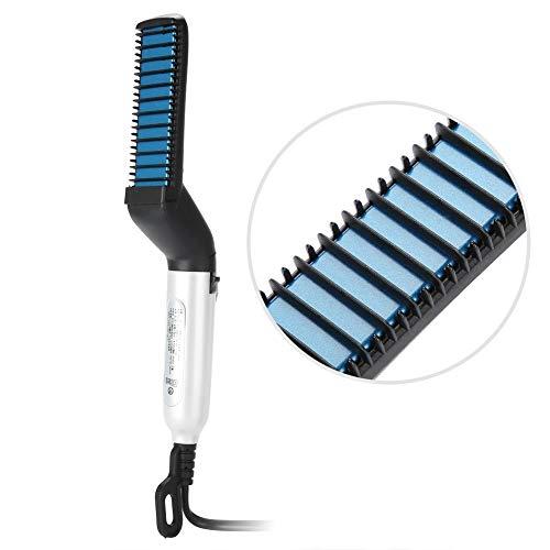 Plancha de pelo multifuncional, Peine para el cabello para rizar el cabello y alisado del cabello, DIY modelado flexible(#1)