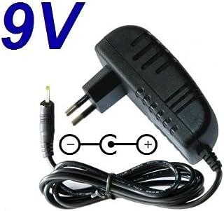 CARGADOR ESP ® Cargador Corriente 9V Compatible con Reemplazo Tablet Woxter Nimbus 98Q 98RQ Recambio Replacement
